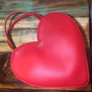 NWT Kate Spade Doily Heart Tote RARE!
